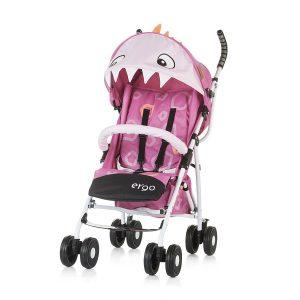 Chipolino Ergo sport babakocsi – Pink Baby Dragon