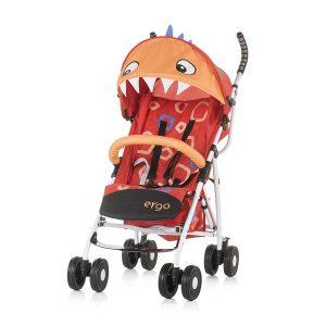 Chipolino Ergo sport babakocsi – Red Baby Dragon
