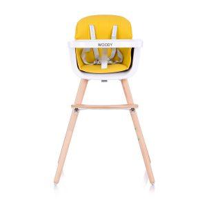 Chipolino Woody fix etetőszék – Yellow 2020