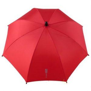 UV 50+ szűrős napernyő babakocsira piros