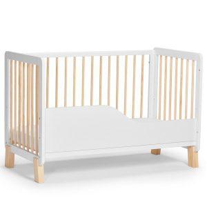Kinderkraft Lunky kiságy matraccal fehér