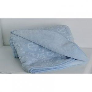 Babatakaró kék 110×130
