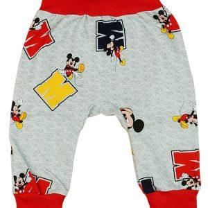 Disney Mickey baba nadrág 2:1 méret piros