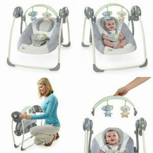 Ingenuity Soothe'n Delight Portable Swing hinta