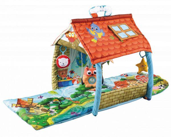 Lionelo Agnes házikóvá alakítható játszószőnyeg