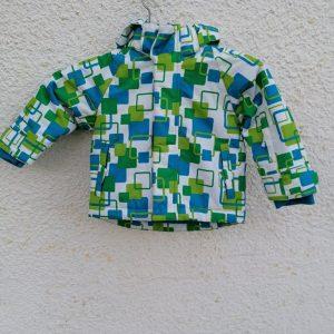 Bornino Kék kockás Kapucnis téli kabát