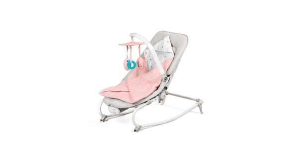 Kinderkraft Felio rezgő-zenélő Pihenőszék rózsaszín