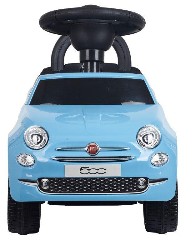 Sun baby bébitaxi Fiat 500 piros kék