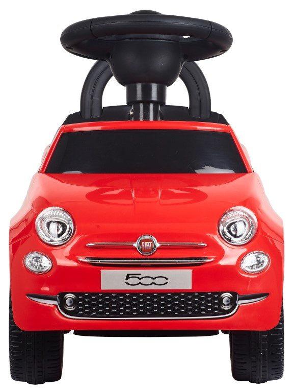 Sun baby bébitaxi Fiat 500 piros