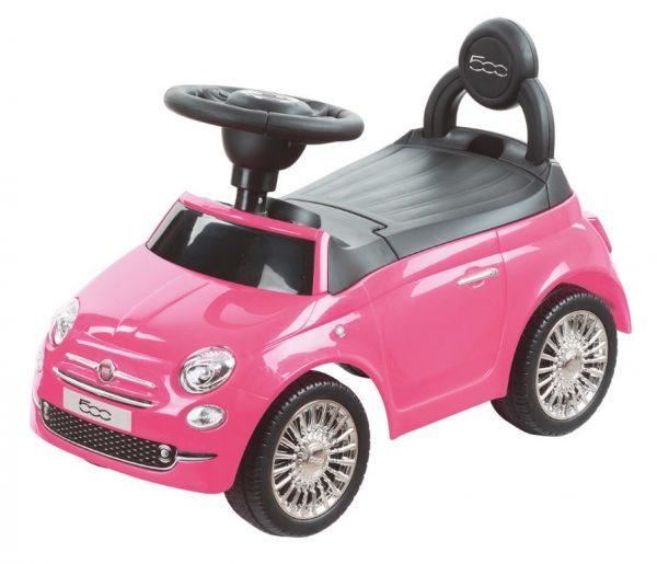 Sun baby bébitaxi Fiat 500 piros kék rózsaszín