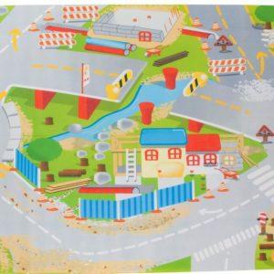 Sun Baby játszószőnyeg autókkal-építkezés  120×80 cm (másolat)