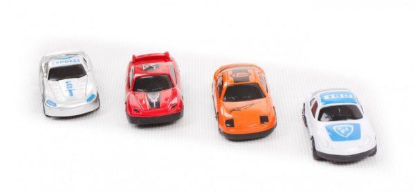 Sun Baby játszószőnyeg autókkal-havas táj 120×80 cm