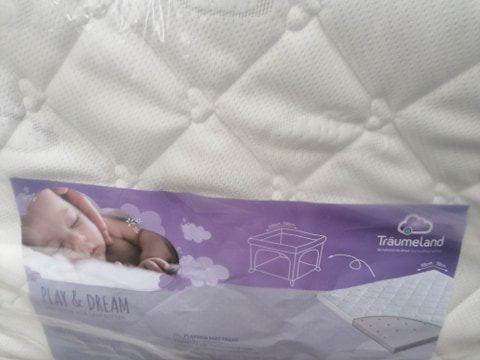 Träumeland járóka matrac Play & Dream 100 x 100 cm