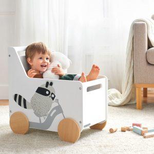 Kinderkraft Racoon játéktároló