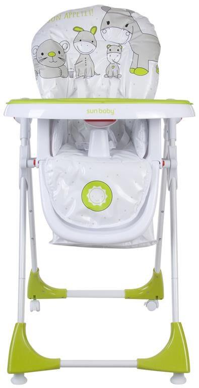Sun Baby Comfort Lux multifunkciós etetőszék-zöld