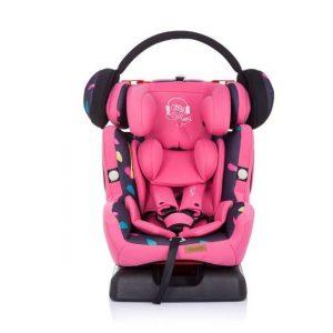 Chipolino 4 Max biztonsági Gyerekülés 0-36kg – Girl rózsaszín 2020
