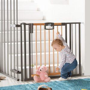 Geuther 2793+ Fa biztonsági ajtó és lépcsőrács