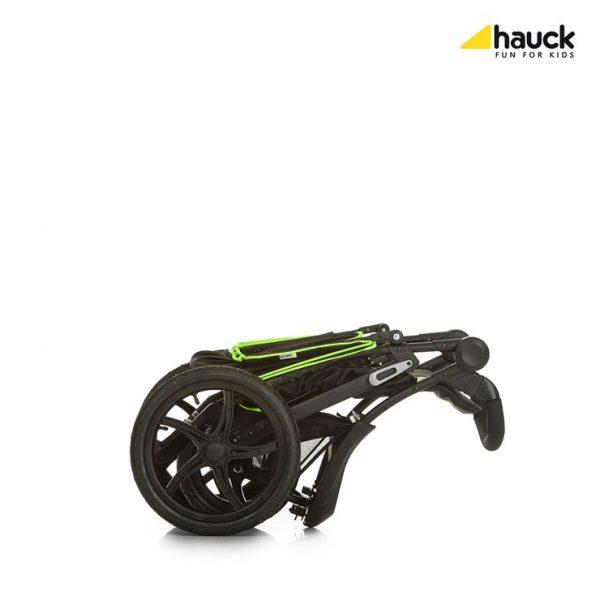 HAUCK Runner babakocsi Black Neon Yellow