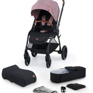 Kinderkraft Evolution Cocoon 2in1 babakocsi puha mózessel Mauvelous Pink