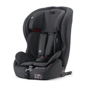 Kinderkraft Safety-Fix autósülés 9-36kg fekete