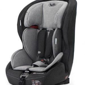 Kinderkraft Safety-Fix autósülés 9-36kg fekete-szürke