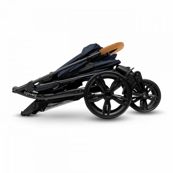 Lionelo Annet sport babakocsi-Black-Carbon