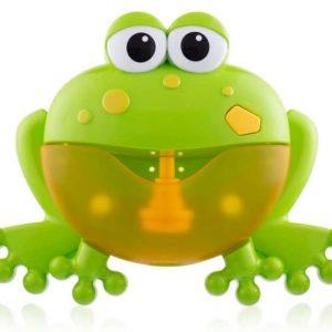 Zenélő Buborékfújó – Béka zöld