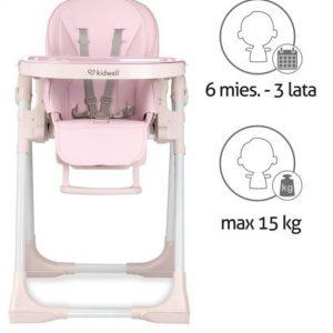 Kidwell Bento etetőszék rózsaszín