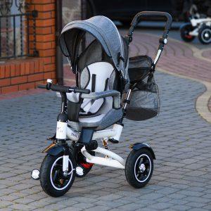 Trike Fix V3 szürke megfordító üléssel , dönthető háttámlával