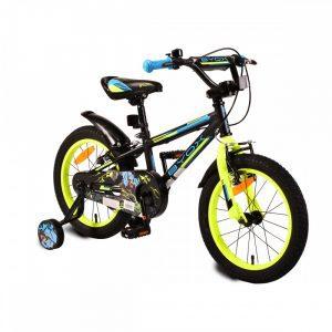 Gyermek kerékpár 16-os  Monster fekete