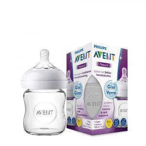 Avent SCF051/17 Natural üvegből készült cumisüveg 120 ml
