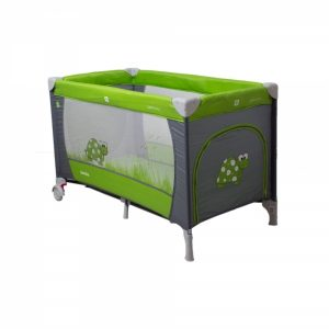 Coto Baby Samba utazóágy zöld-szürke teknős