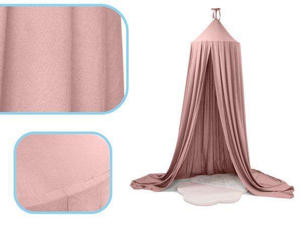 Óriás függő baldachin rózsaszín