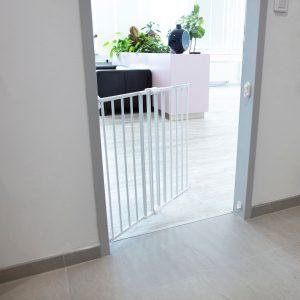 Zopa Simply fém ajtórács 60-97cm fehér